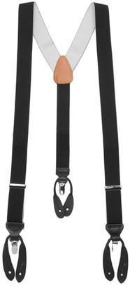 Trafalgar Maddox Leather Suspenders
