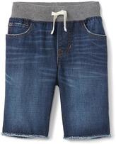 Gap Stretch pull-on denim shorts