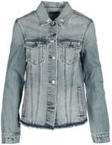 RtA Frayed-hem Denim Jacket