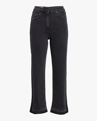 McQ Straight Leg Side Panel Jeans