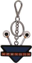 Prada Robot Eyes Leather Keychain