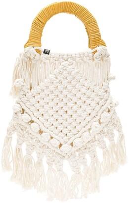 Nannacay Lotus crochet bag