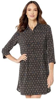 Nic+Zoe Honeycomb Dress (Multi) Women's Clothing