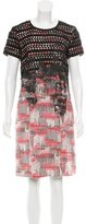 Bottega Veneta Silk Printed Dress