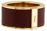 Chloé Leather Inlay Band