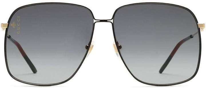 8d959c80ae6a6 Gucci Sunglasses Metal Frames - ShopStyle