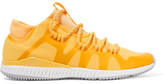 adidas by Stella McCartney Crazytrain Bounce Mesh Sneakers - Bright yellow