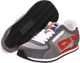 KangaROOS Kids - Magnum Racer (Little Kid/Big Kid) (Grey/Charcoal/Orange) - Footwear