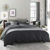 Kenneth Cole Reaction Home Fusion King Duvet Cover in Indigo