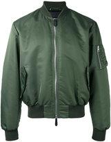 J.W.Anderson arm zip bomber jacket - men - Nylon/Viscose - 48