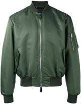 J.W.Anderson arm zip bomber jacket - men - Nylon/Viscose - 52