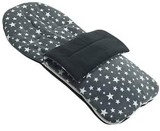 Maclaren Fleece Footmuff Compatible with Stroller Buggy Pram - Grey Star