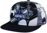 adidas Charlotte Hornets All Team Screen Print Snapback Cap