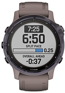 Garmin Fenix 6S Pro Solar Smart Watch, 42mm