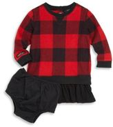Ralph Lauren Baby's Two-Piece Plaid Dress & Bloomers Set