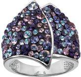 Confetti Crystal Asymmetrical Ring