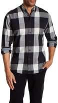 AG Jeans Plaid Long Sleeve Button Down Shirt