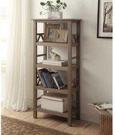 Linon Elaine Bookcase - Grey