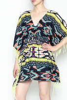 Shiraleah Rowlie Kaftan Cover Up