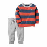 Carter's 2-pc. Orange Sweater and Pants Set - Baby Boys newborn-24m