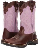 Durango Lady Rebel 11 Saddle Cowboy Boots