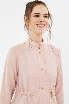 Coast Popper Detail Relaxed Jacket