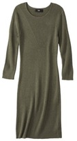 Mossimo Women's Longsleeve Sweater Dress - Assorted Colors
