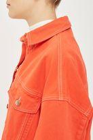 Boutique Deep cuff denim jacket