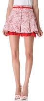 Alice + Olivia Oksana Tiered Miniskirt