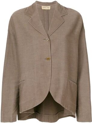 Romeo Gigli Pre-Owned Long Sleeve Blazer