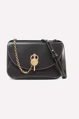 J.W.Anderson Keyts Large Leather Shoulder Bag - Black