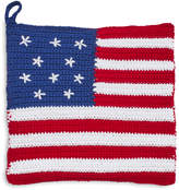 Sur La Table Stars and Stripes Crochet Pot Holder