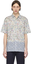 Paul Smith White Floral Short Sleeve Shirt