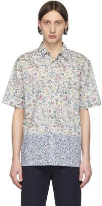 Paul Smith White Floral Short Sleeve Shirt