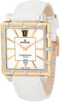 Edox Women's 26022 357R NAIR Classe Royale Rectangular Date Watch