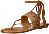 Soludos Women's Lace up Flat Sandal
