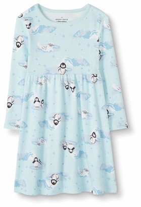 Moon and Back by Hanna Andersson Moon and Back Girls' Baby Toddler Dress