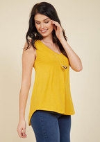 Endless Possibilities Tank Top in Goldenrod in L