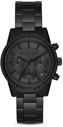 Michael Kors Ritz Black Chronograph, 37mm