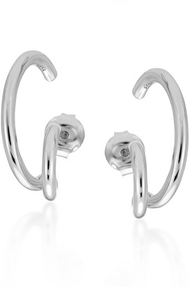 Larsson & Jennings Silver Liv Earrings