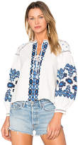 Central Park West Marrakech Top in White. - size L (also in M,S,XS)