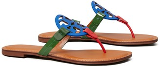 Tory Burch Miller Sandal, Mixed Leather