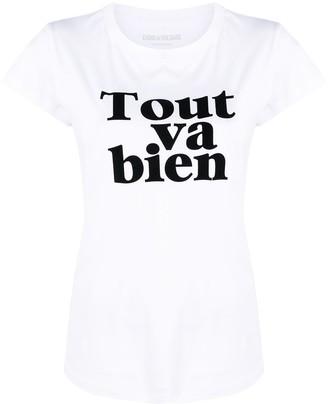 Zadig & Voltaire Tout va bien T-shirt