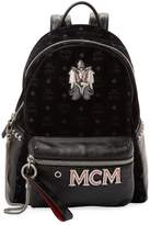 MCM Women's Patched Leather Backpack
