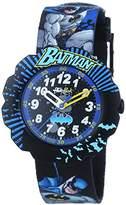Flik Flak Watches Unisex Quartz watch with black dial analogue display Quartz Textile FLSP003