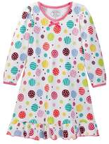 Sara's Prints Printed Puffed Sleeve Nightgown (Toddler, Little Girls, & Big Girls)