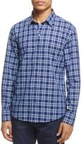 Zachary Prell Leventhal Plaid Regular Fit Button-Down Shirt