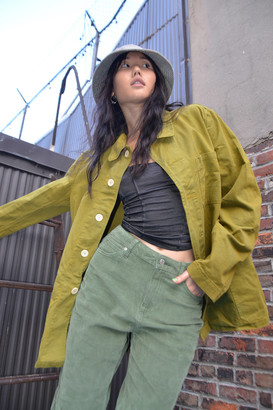 Urban Renewal Vintage 1960s Overdyed Lightweight Jacket