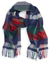 Nordstrom Women's Plaid Cashmere Scarf