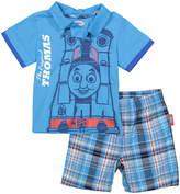 Children's Apparel Network Thomas & Friends Polo & Shorts - Infant